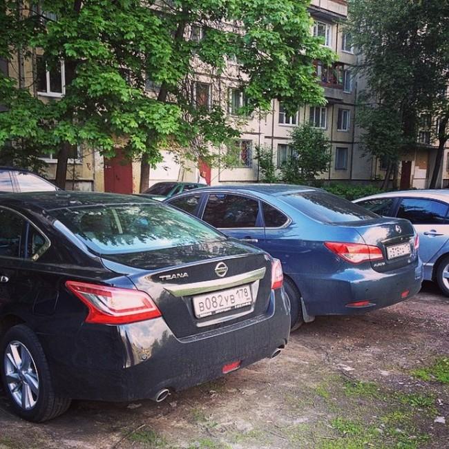 Как петербуржцы угнанный автомобиль возвращали