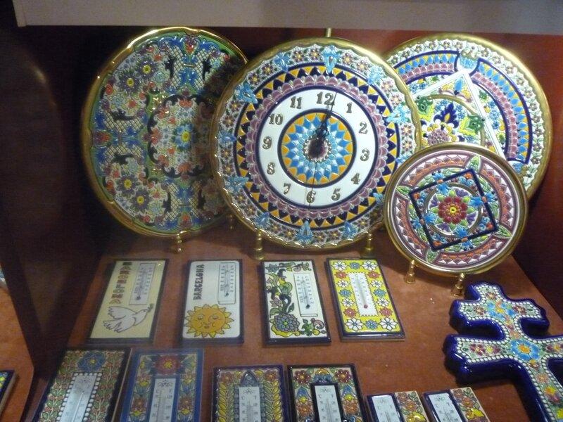 Витрины сувенирных магазинов, Испания