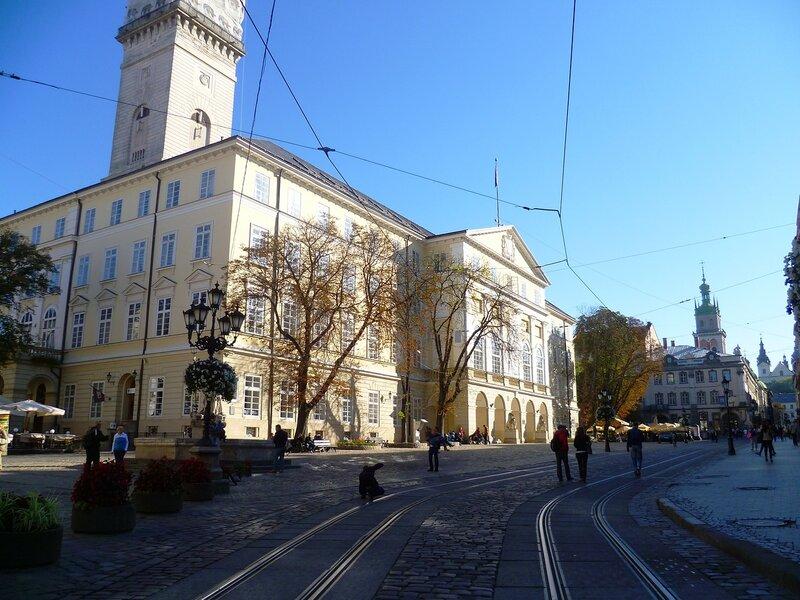 Украина, Львов – ратуша (Ukraine, Lviv - Town Hall).