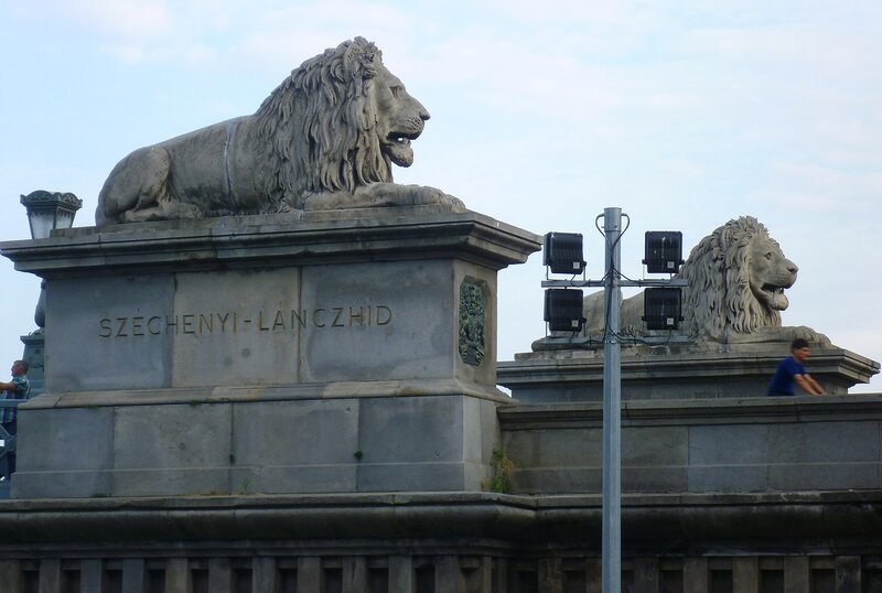 Львы в Будапеште (Lions in Budapest)