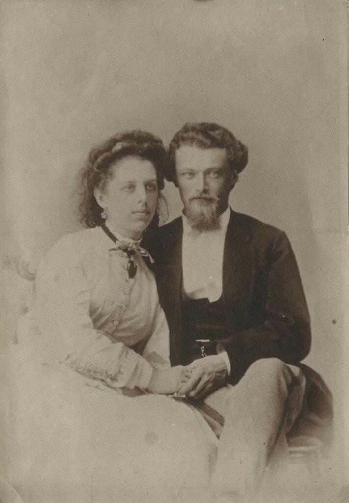 1870. Елизавета и Михаил Кологривовы