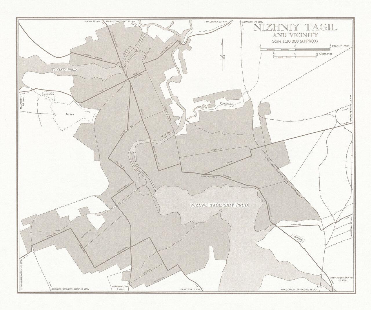 Нижний Тагил и окрестности