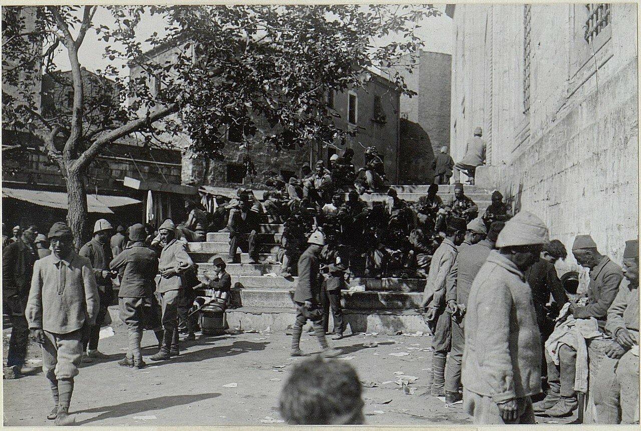 Marktplatz in Stambul.