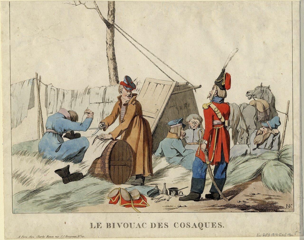 Бивак казаков, 1815