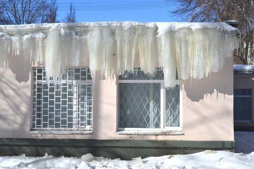 леденая  бахрома
