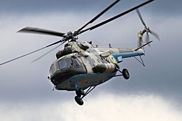 Вынужденная посадка: В штабе АТО объяснили, почему вертолет ВСУ приземлился вблизи Райского
