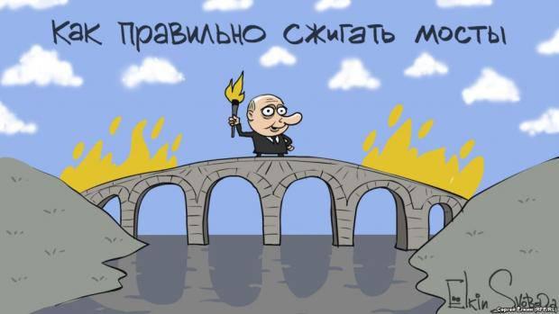 """Выборы в Крыму: """"Кремль Все делает правильно. Чем быстрее залезут в петлю, тем быстрее ых с нее снимут"""" - блогер"""