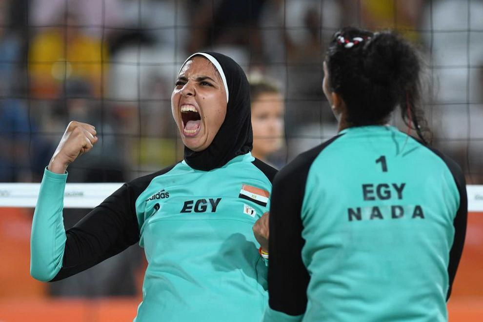 приходится женский пляжный волейбол египтянки фото в рио крыши предполагает проведение