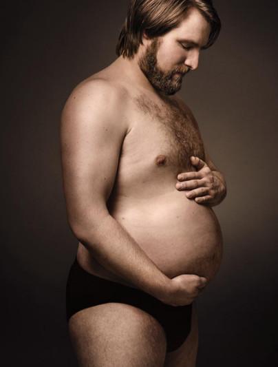 Пародия на беременный