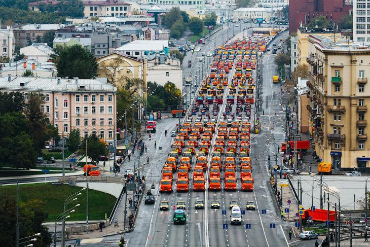 Московский парад городской техники (24 фото)