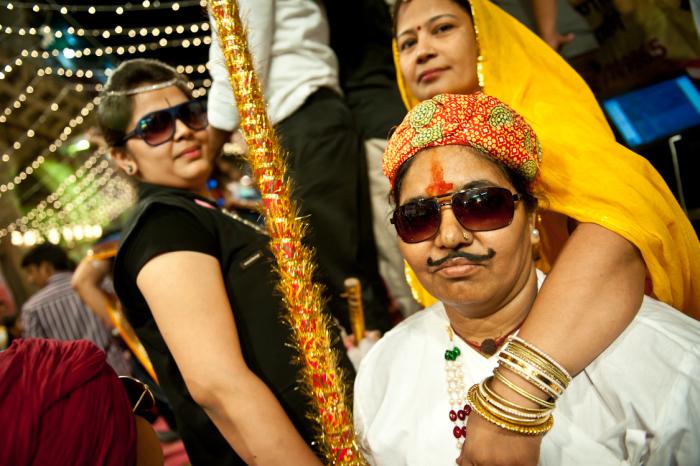 Праздник невероятных переодеваний. Джодхпур, Раджастхан В индийском штате Раджастхан встречаются одн