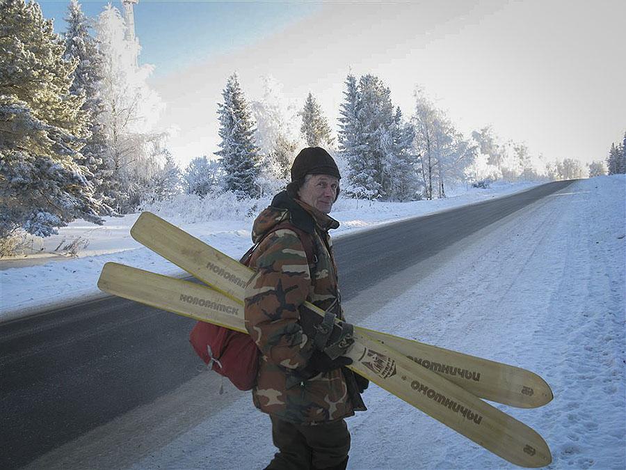 Лыжи в Вятке нужны не простые, а широкие.