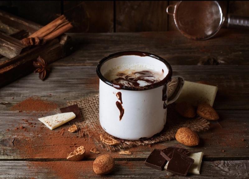 10. Согреться горячим шоколадом