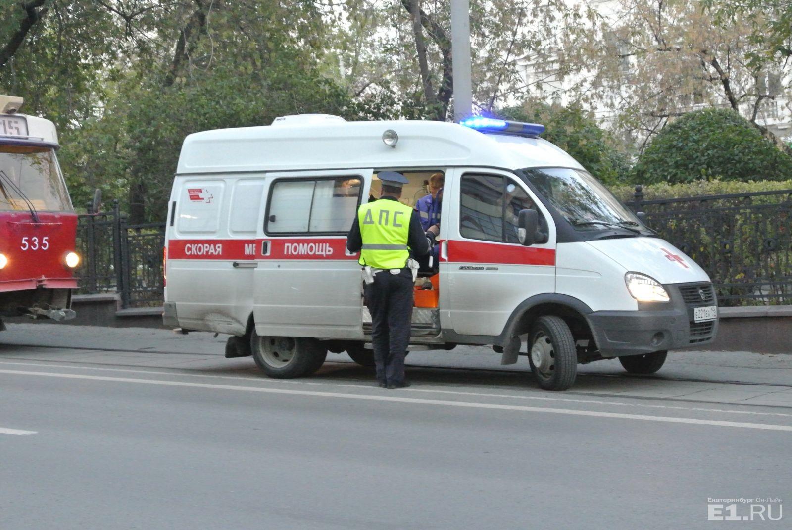 ВЕкатеринбурге сегодня вечером пассажиры избили кондуктора трамвая