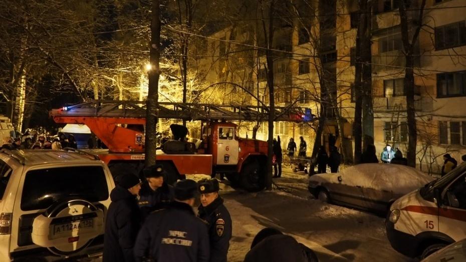 ВВоронежской области из-за пожара втубдиспансере эвакуировали 31 человека