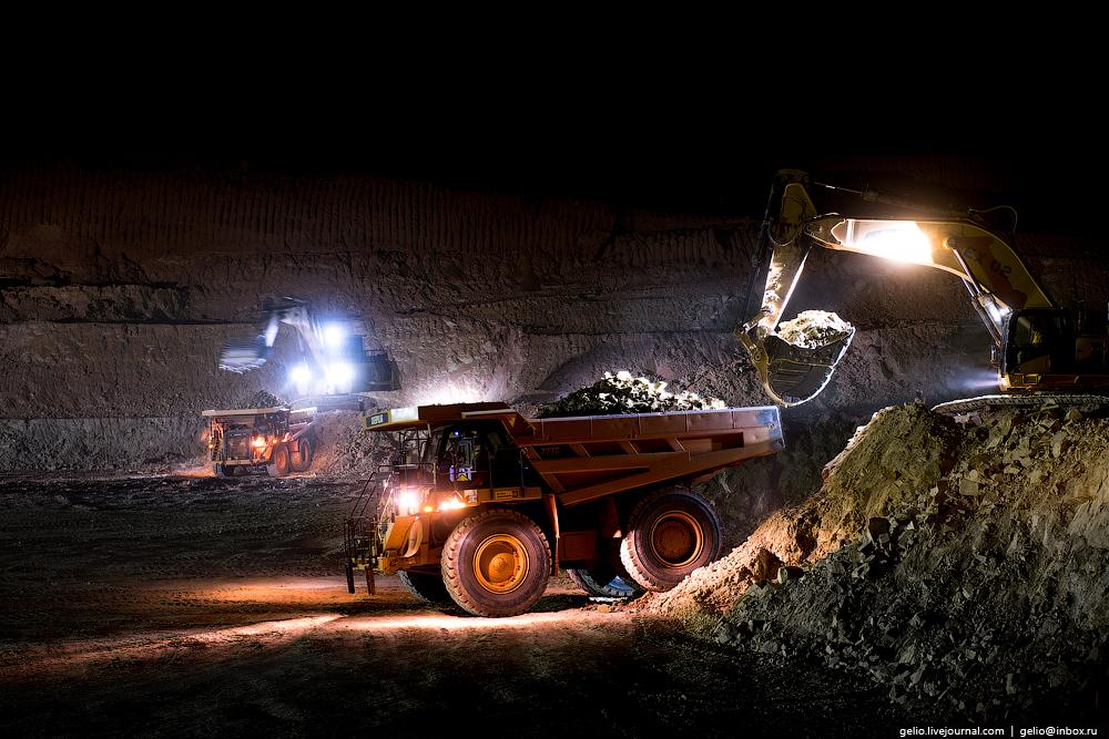 Добыча золота в Африке, России и Казахстане