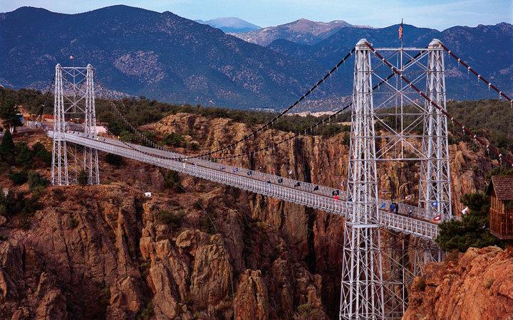 Мост Королевского ущелья, Колорадо, США