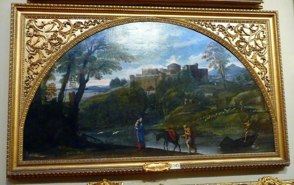 """Аннибале Карраччи """"Бегство в Египет"""", 1603 г."""