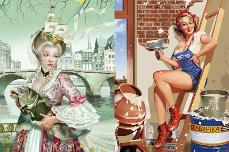 Татьяна Доронина: Теплые графические картины