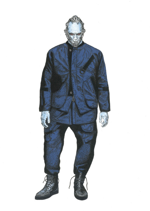 Mr.Freeze wearing Alexander Wang Spring 2015 Collection in Highsnobiety Magazine Issue 10.