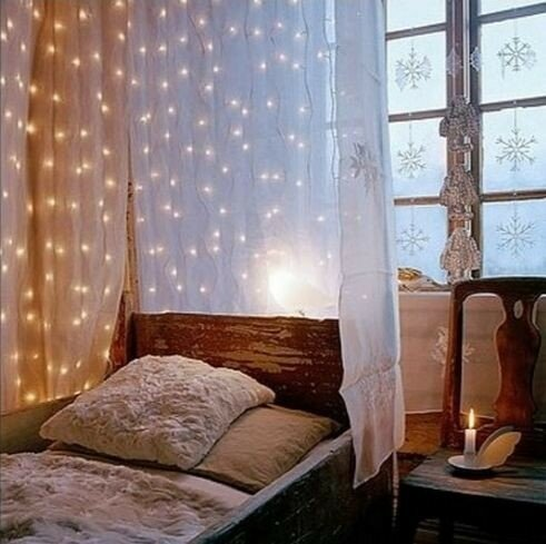 Идеи для новогоднего декора спальни
