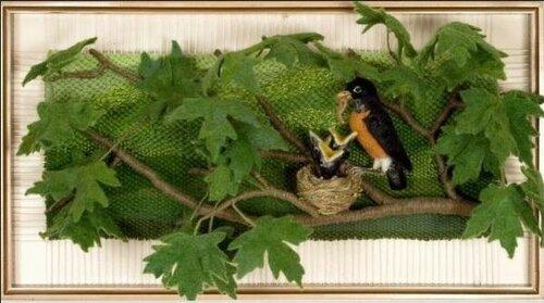 Микс войлока и ткачества