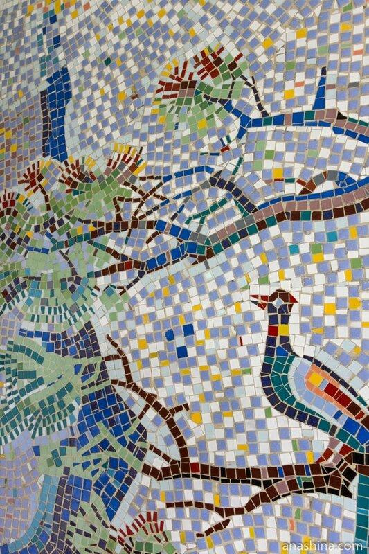 Мозаика, дача Сталина в Сочи