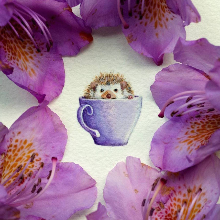 Cute & Tiny Paintings of Animals