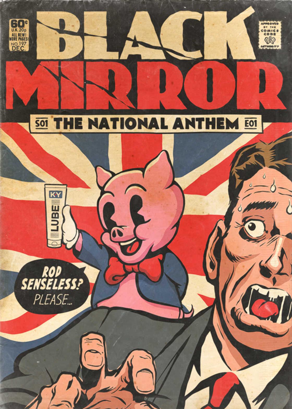 A serie Black Mirror foi transformada em quadrinhos