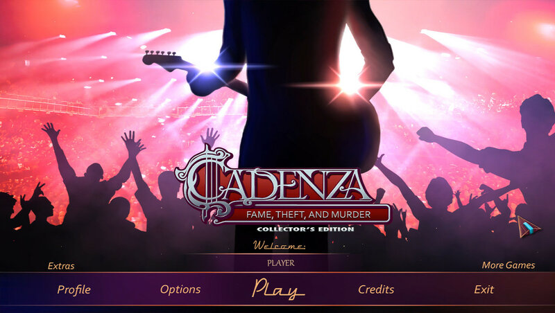 Cadenza: Fame, Theft and Murder CE