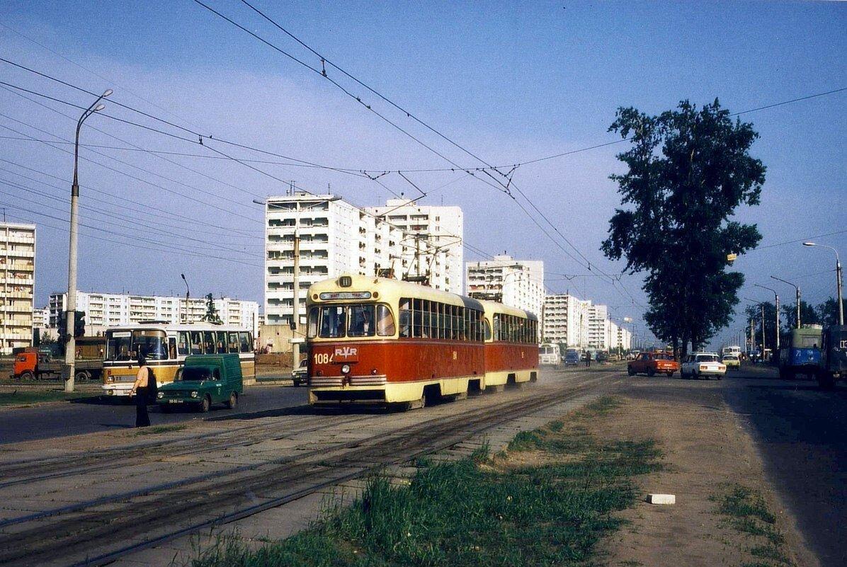 Перекресток улица Зорге - Проспект Победы