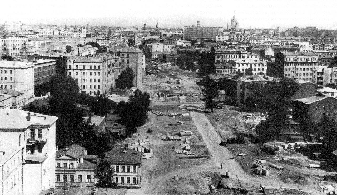 1961. Начало постройки Нового Арбата