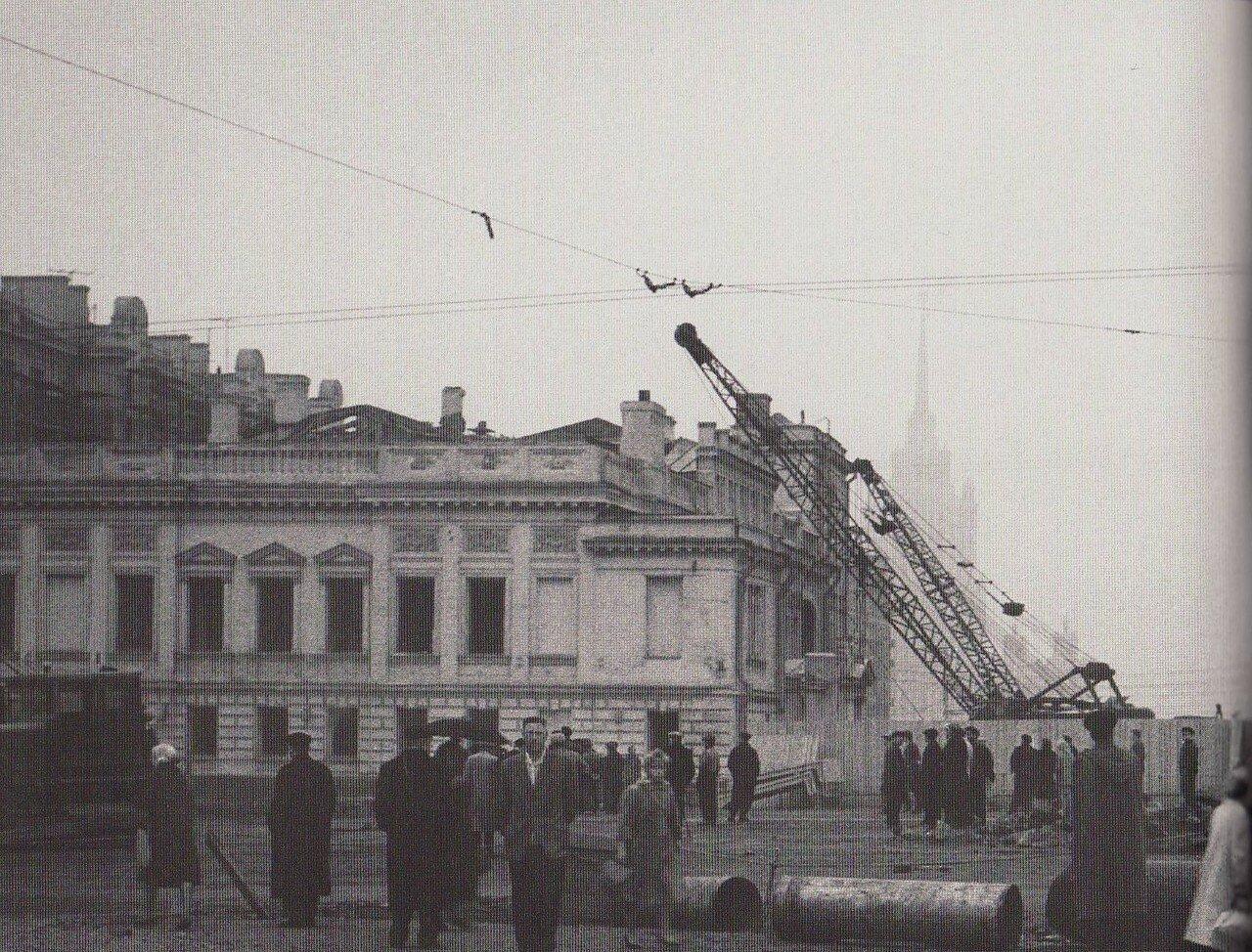 1962. Большой Новинский переулок