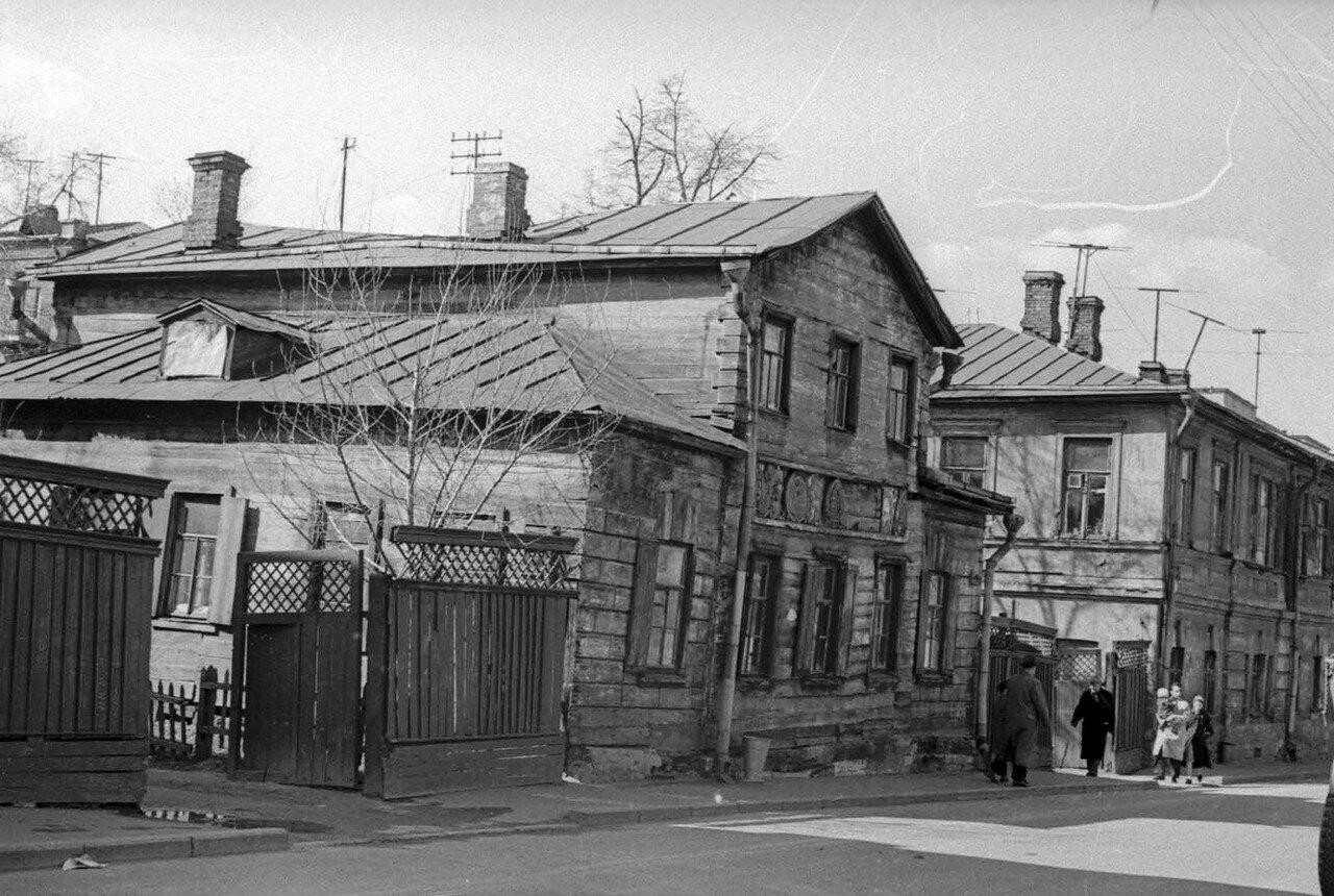 1964. Улица Танеевых