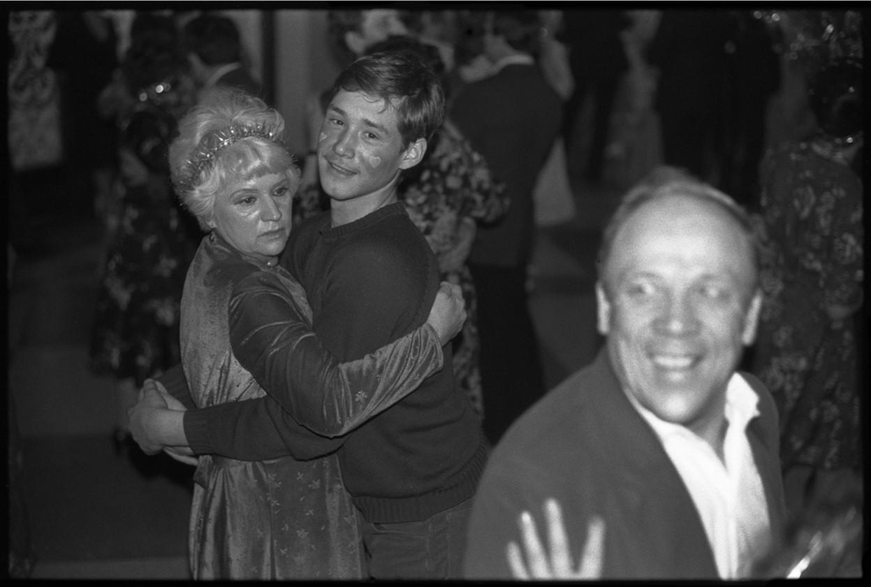 1984. «Танец для разных возрастов». Новогодний вечер в Клубе строителей. Новокузнецк