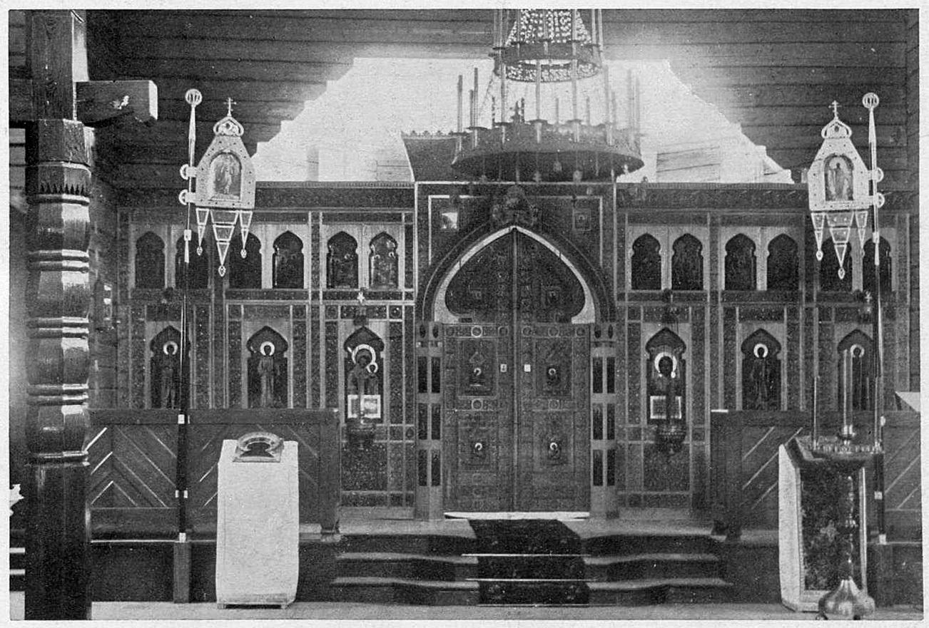 Вырица. Церковь Казанской иконы Божией Матери. Иконостас