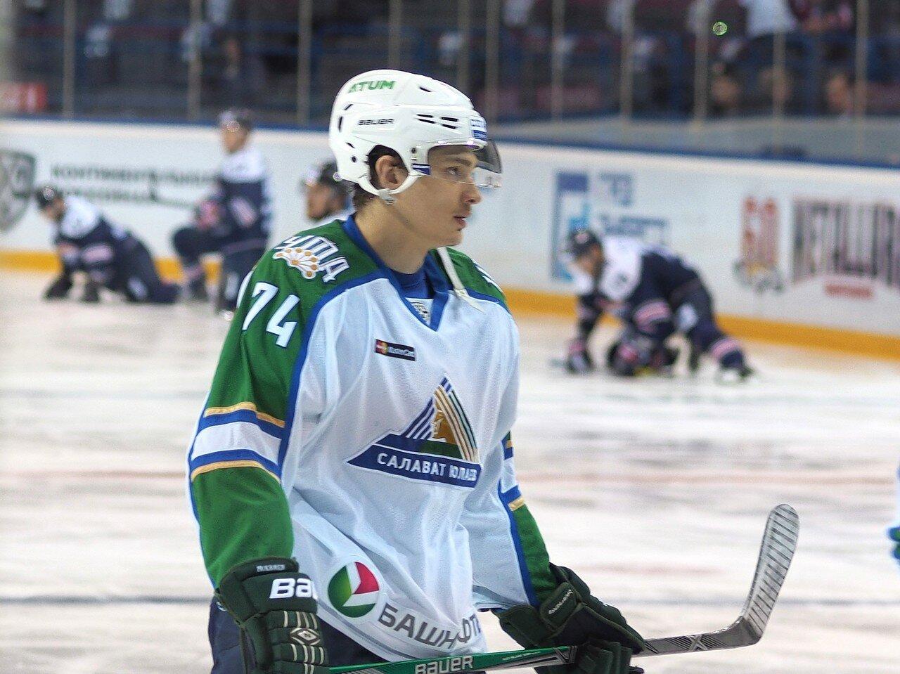 14Плей-офф 2016 Восток Финал Металлург - Салават Юлаев 23.03.2016