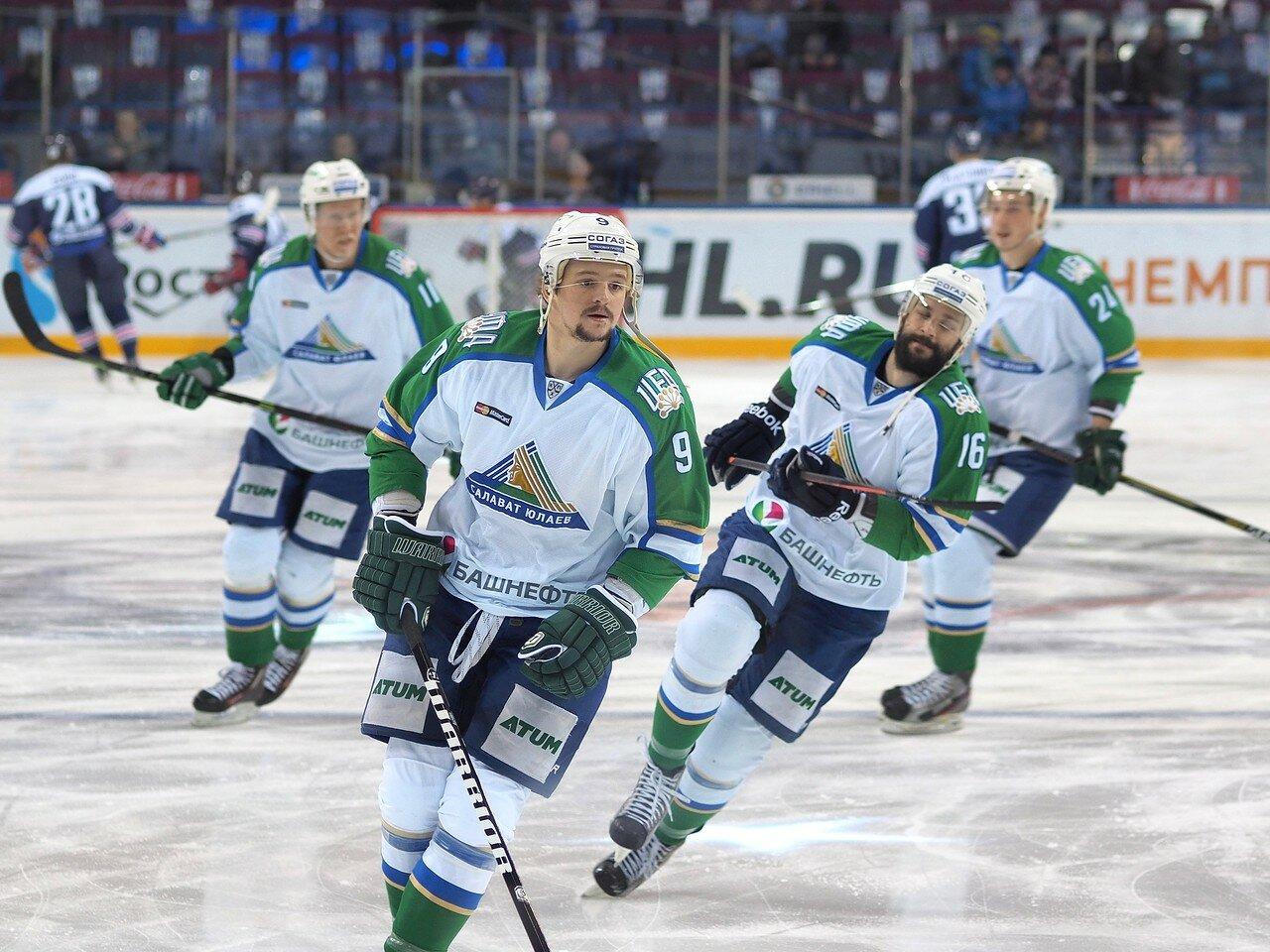 17Плей-офф 2016 Восток Финал Металлург - Салават Юлаев 23.03.2016