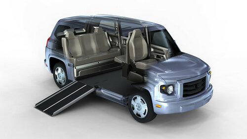 Двое молдаван разработали автомобиль AVAI для инвалидов 7