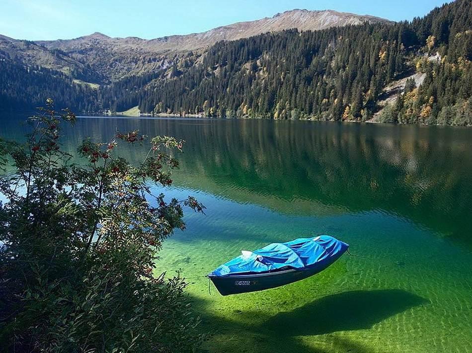 Самое чистое озеро на планете