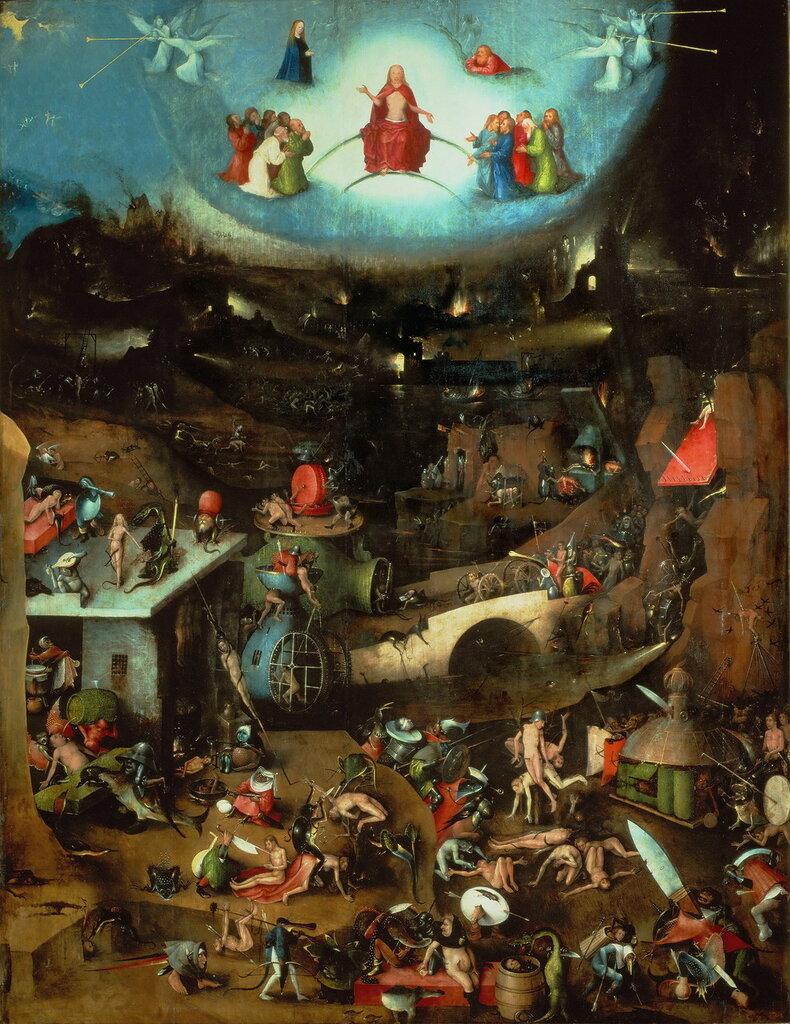11.2.Триптих 'Страшный суд' (ок.1482) (164 х 127) (Вена, Галерея Академии изящ.искусств). Центральная панель. Страшный суд.jpg