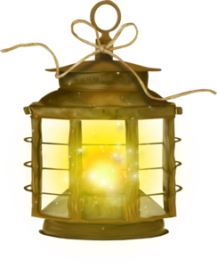 светящиеся фонари