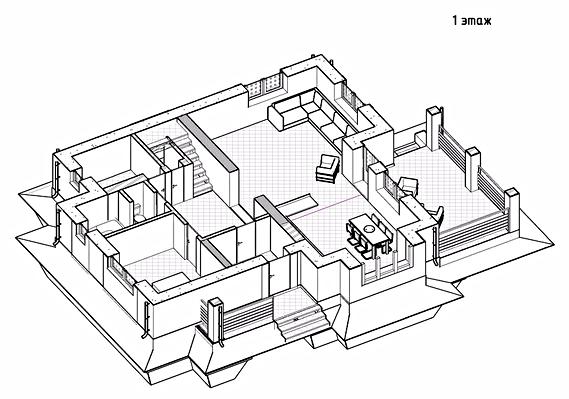 план этажа, первый этаж