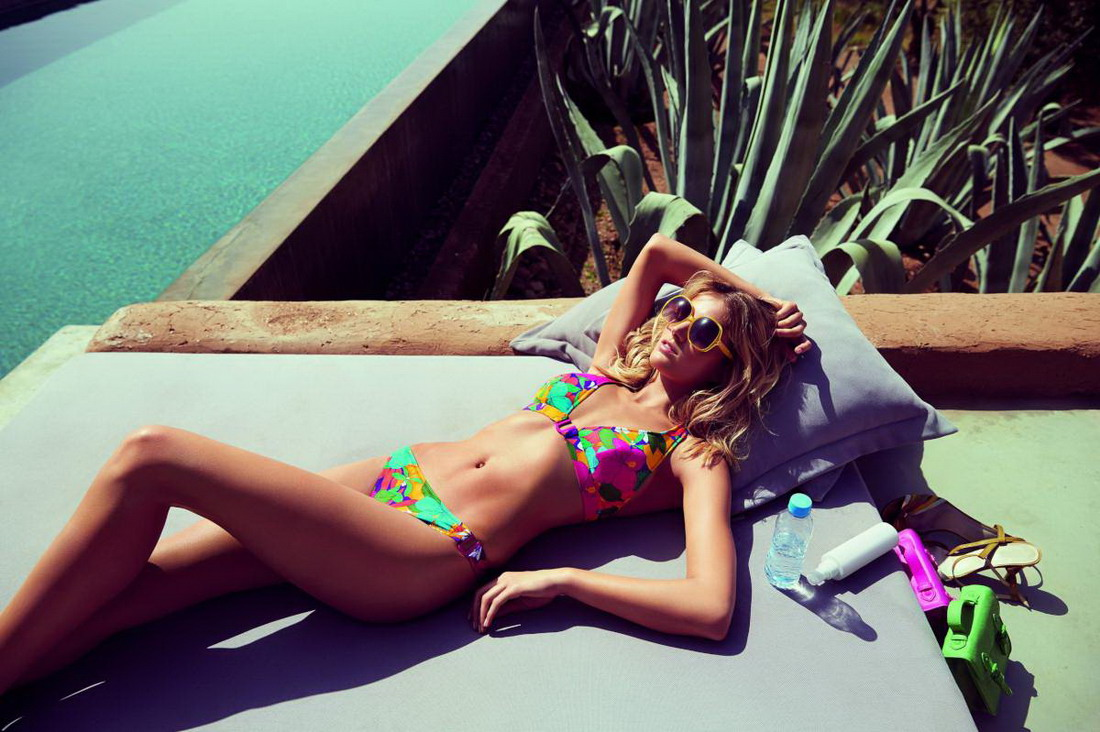 "Fanny Francois – ""Huit"" Bikini and Lingerie Photoshoot"