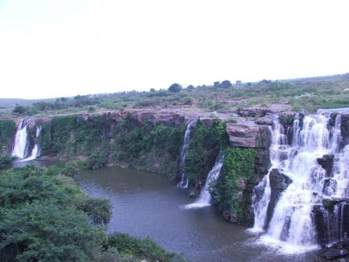 Восточные Гаты, Андхра-Прадеш Горная цепь Восточные Гаты, которая тянется вдоль индийского побережья