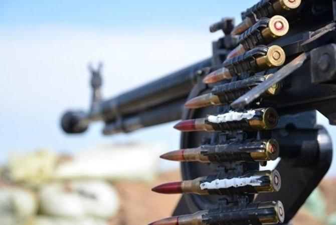 НВФ изстрелкового оружия обстрелялиКП «Марьинка»— ГПСУ