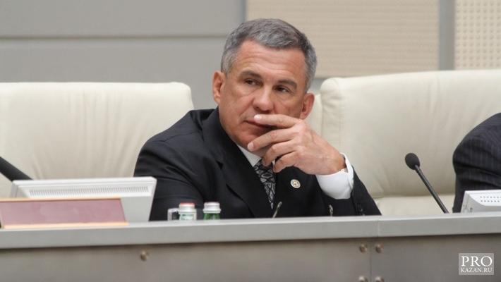Руководству Центробанка было известно о трудной ситуации вТатфондбанке— Президент Татарстана