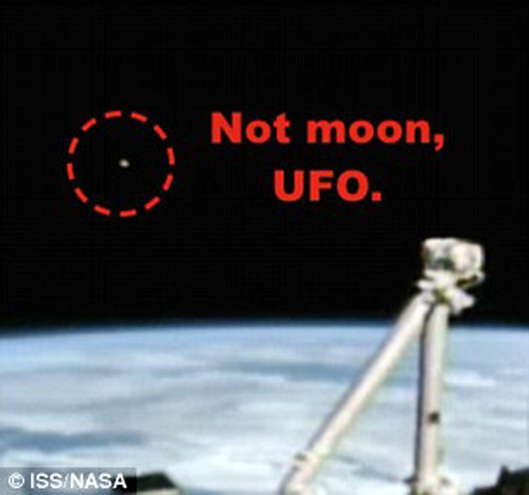 С борта МКС засекли старт НЛО с Земли
