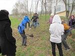 Встреча со школьниками и посадка верб в Луховицком благочинии
