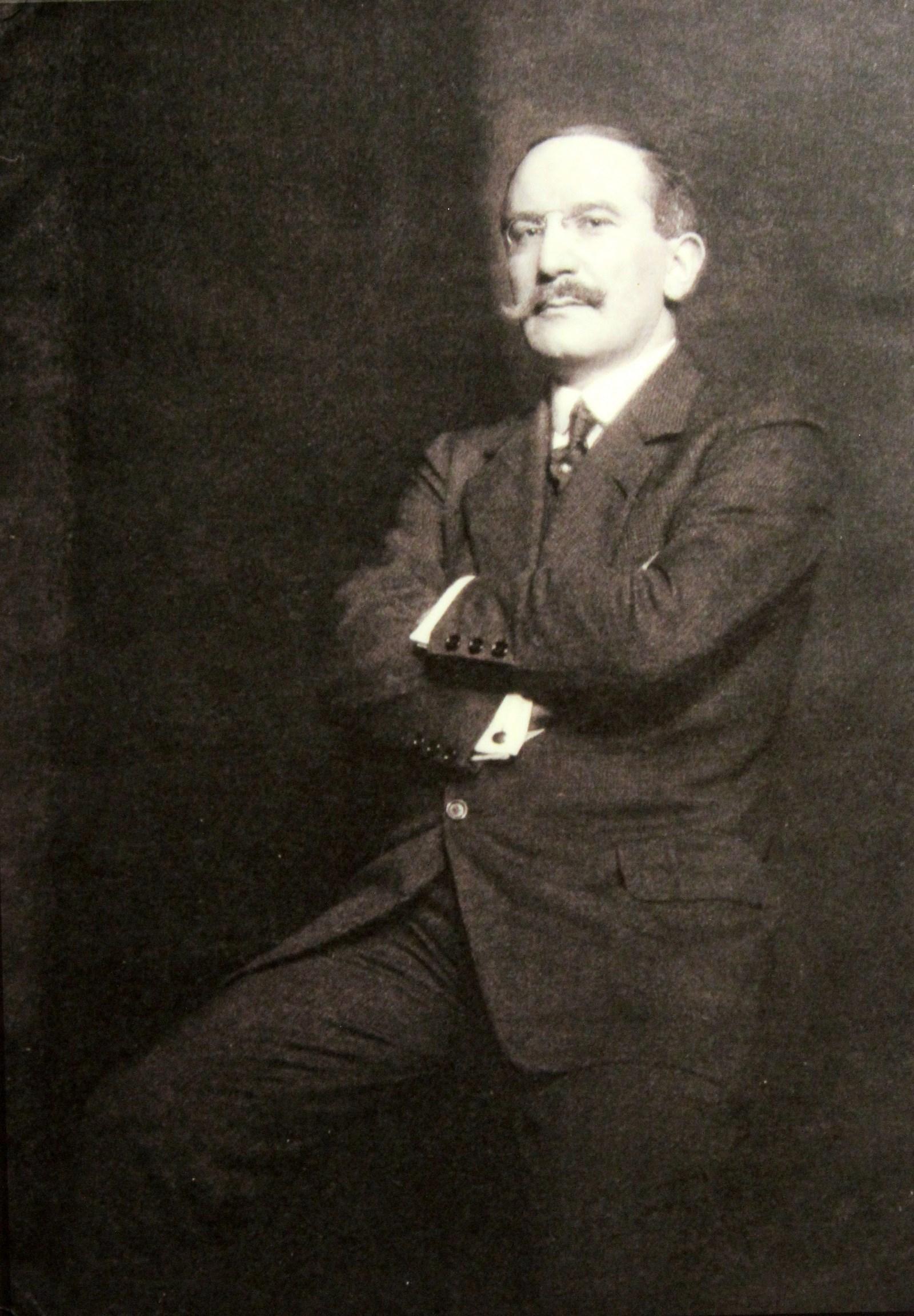 Лев Бакст. Фотография конца 1910-х». 02.04.2016